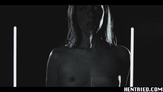 Serious Life Hentai – Ahegao Amirah Adara Fucks Big Dildo – Filled of Semen